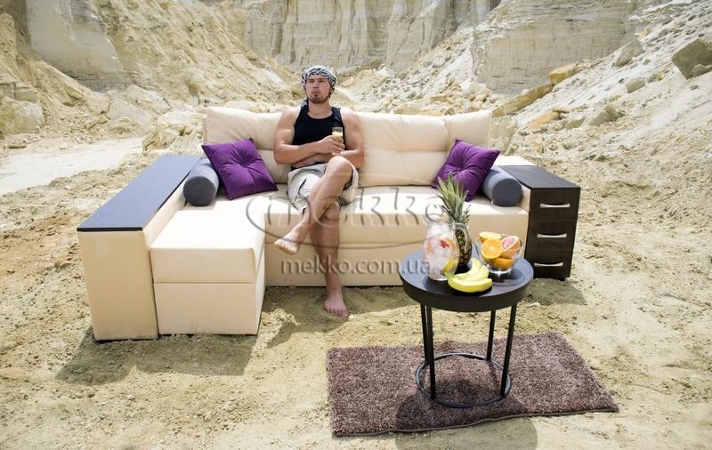 Ортопедичний кутовий диван Cube Shuttle NOVO (Куб Шатл Ново) ф-ка Мекко (2,65*1,65м)  Боярка-6