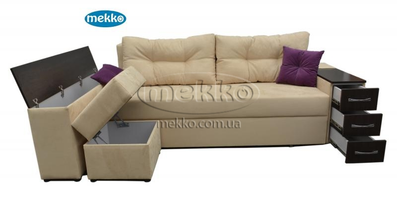 Ортопедичний кутовий диван Cube Shuttle NOVO (Куб Шатл Ново) ф-ка Мекко (2,65*1,65м)  Боярка-13