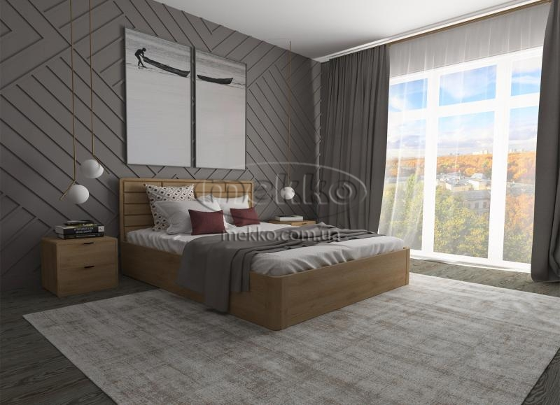 Ліжко Лауро з Підйомником (масив бука /масив дуба) T.Q.Project  Боярка