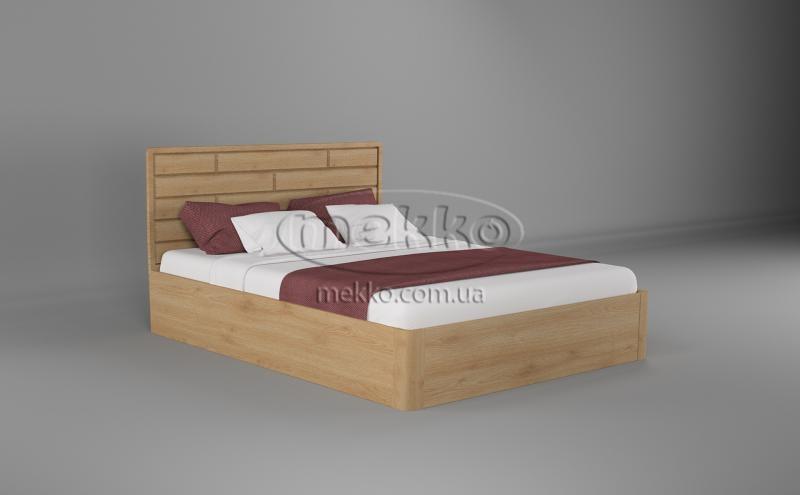 Ліжко Лауро з Підйомником (масив бука /масив дуба) T.Q.Project  Боярка-5