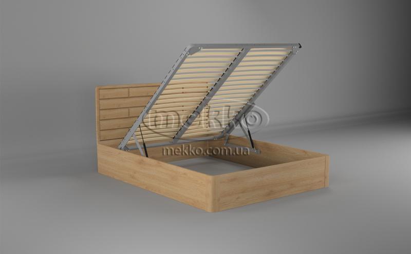 Ліжко Лауро з Підйомником (масив бука /масив дуба) T.Q.Project  Боярка-2