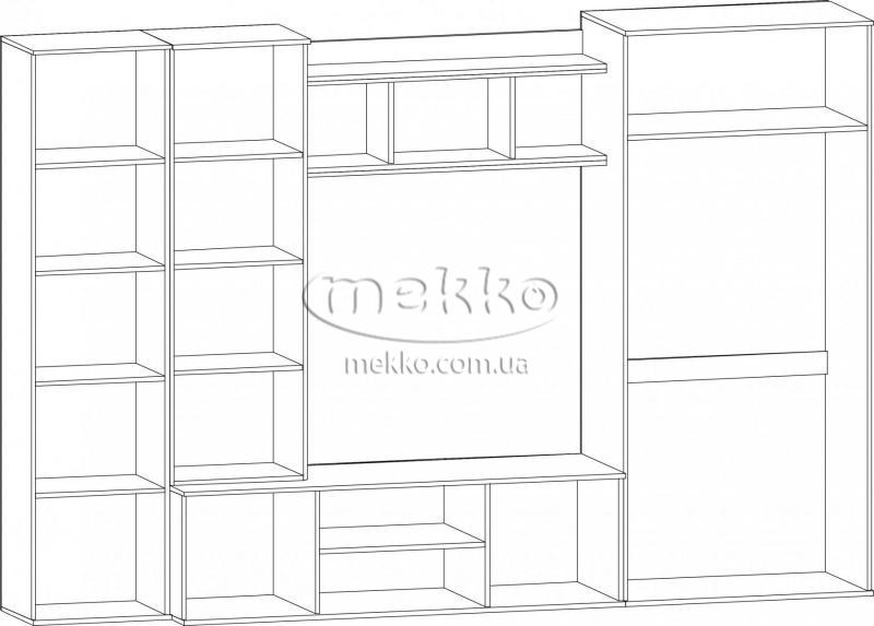"""Стінка """"Конго"""" Мебель-Сервіс  Боярка-4"""
